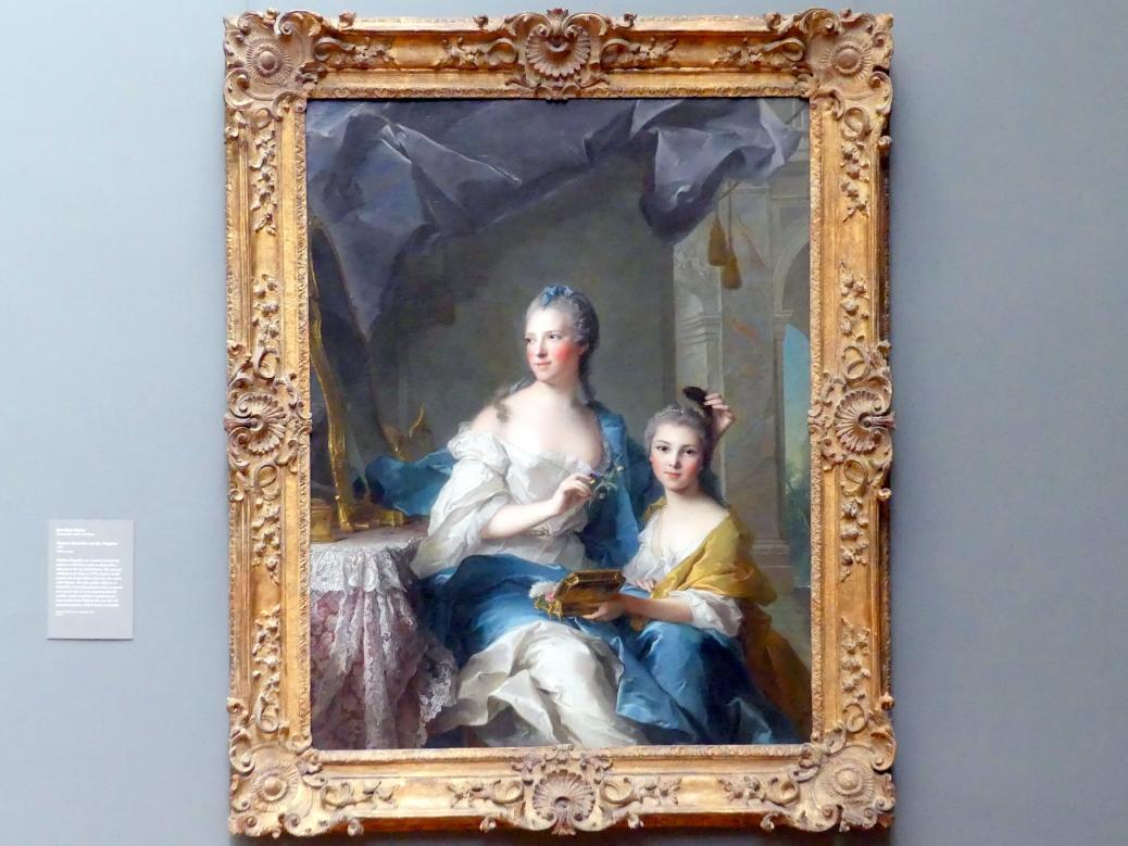 Jean-Marc Nattier: Madame Marsollier und ihre Tochter, 1749