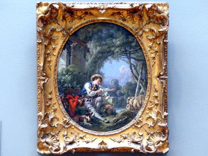 François Boucher: Die Absendung des Boten, 1765