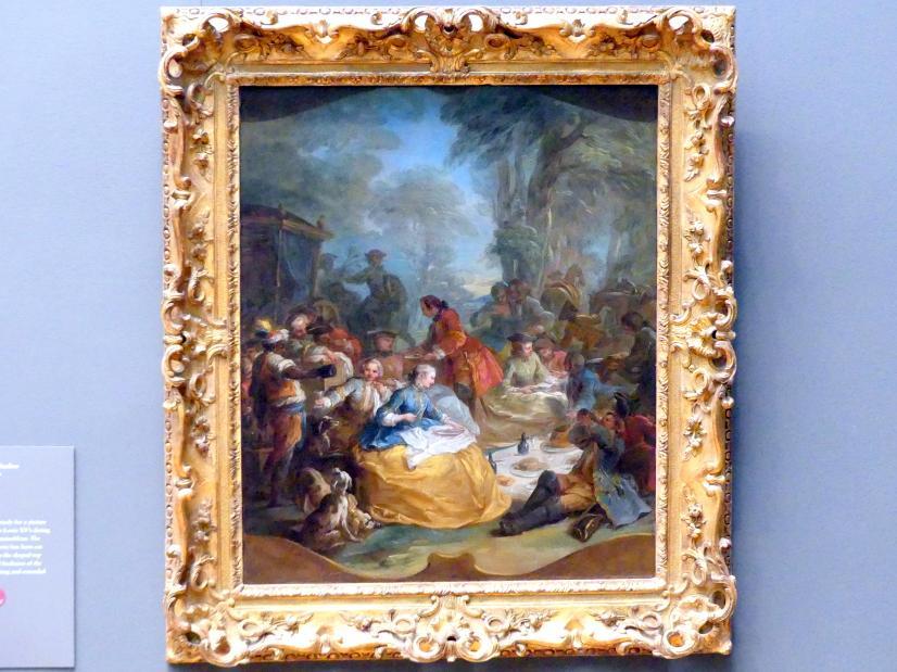 Charles André van Loo: Das Jagdfrühstück, um 1737
