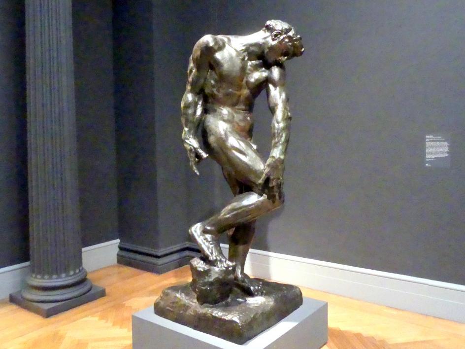 Auguste Rodin: Adam, 1880 - 1881