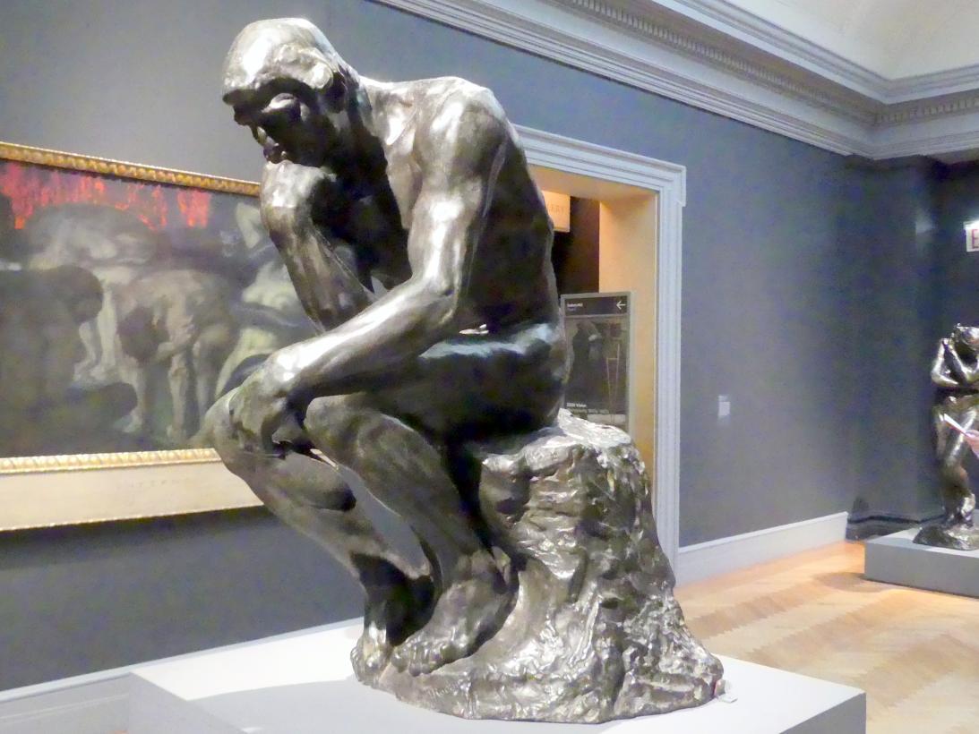 Auguste Rodin: Der Denker, um 1880