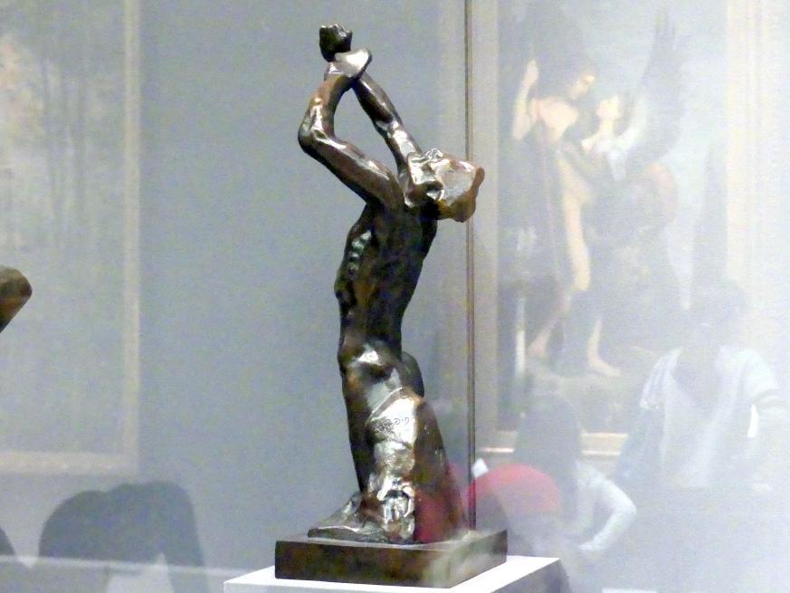Auguste Rodin: Verzweifelter Jugendlicher, 1882