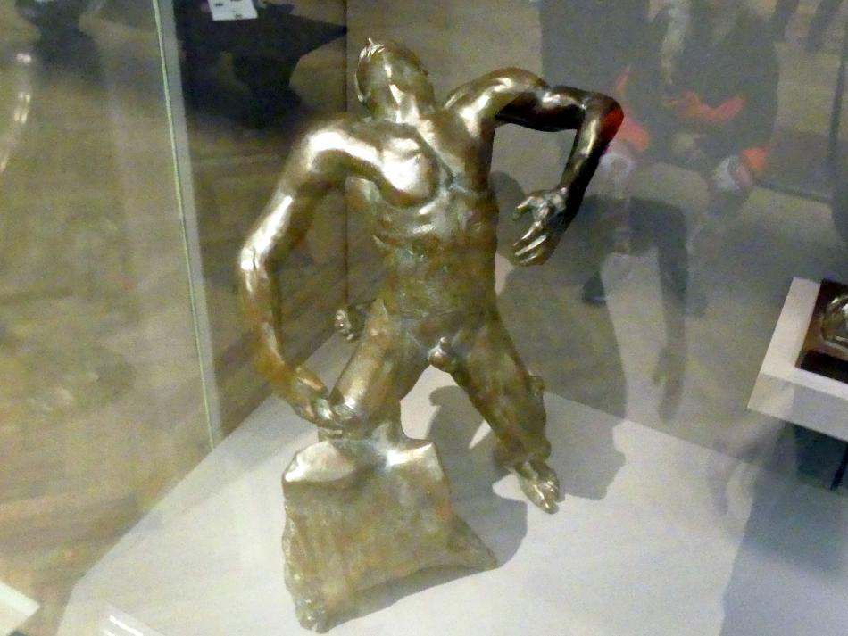 Auguste Rodin: Der fallende Mann, um 1882
