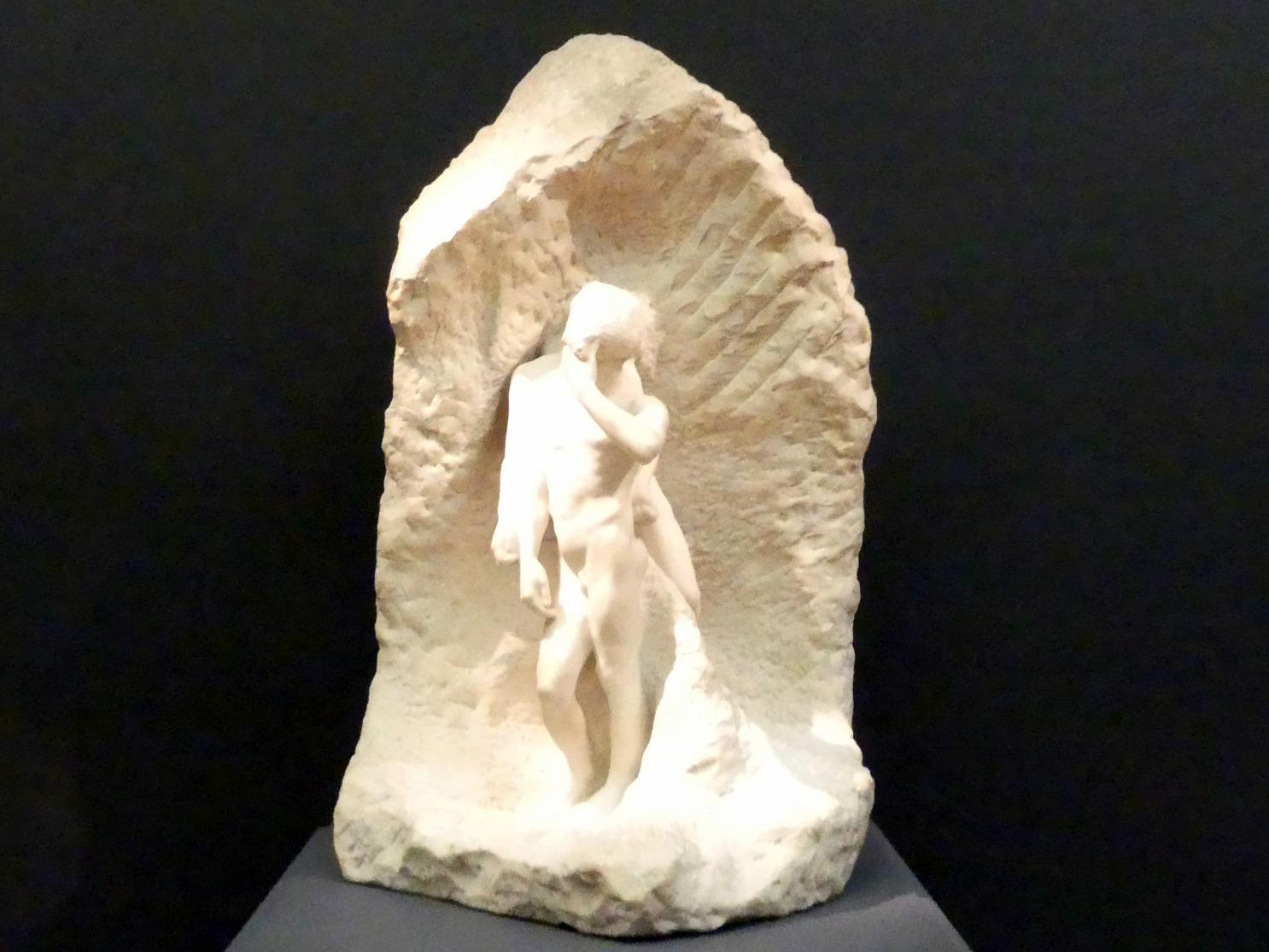 Auguste Rodin: Orpheus und Eurydike, um 1887