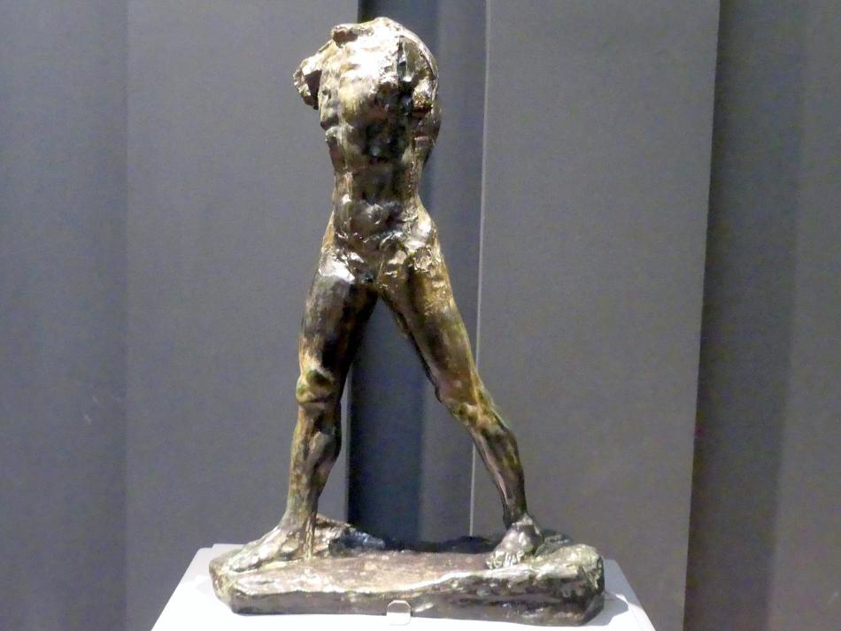 Auguste Rodin: Schreitender Mann, vor 1900