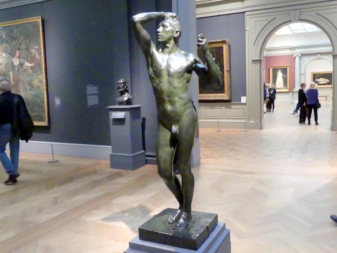 Auguste Rodin: Die Bronzezeit, 1876