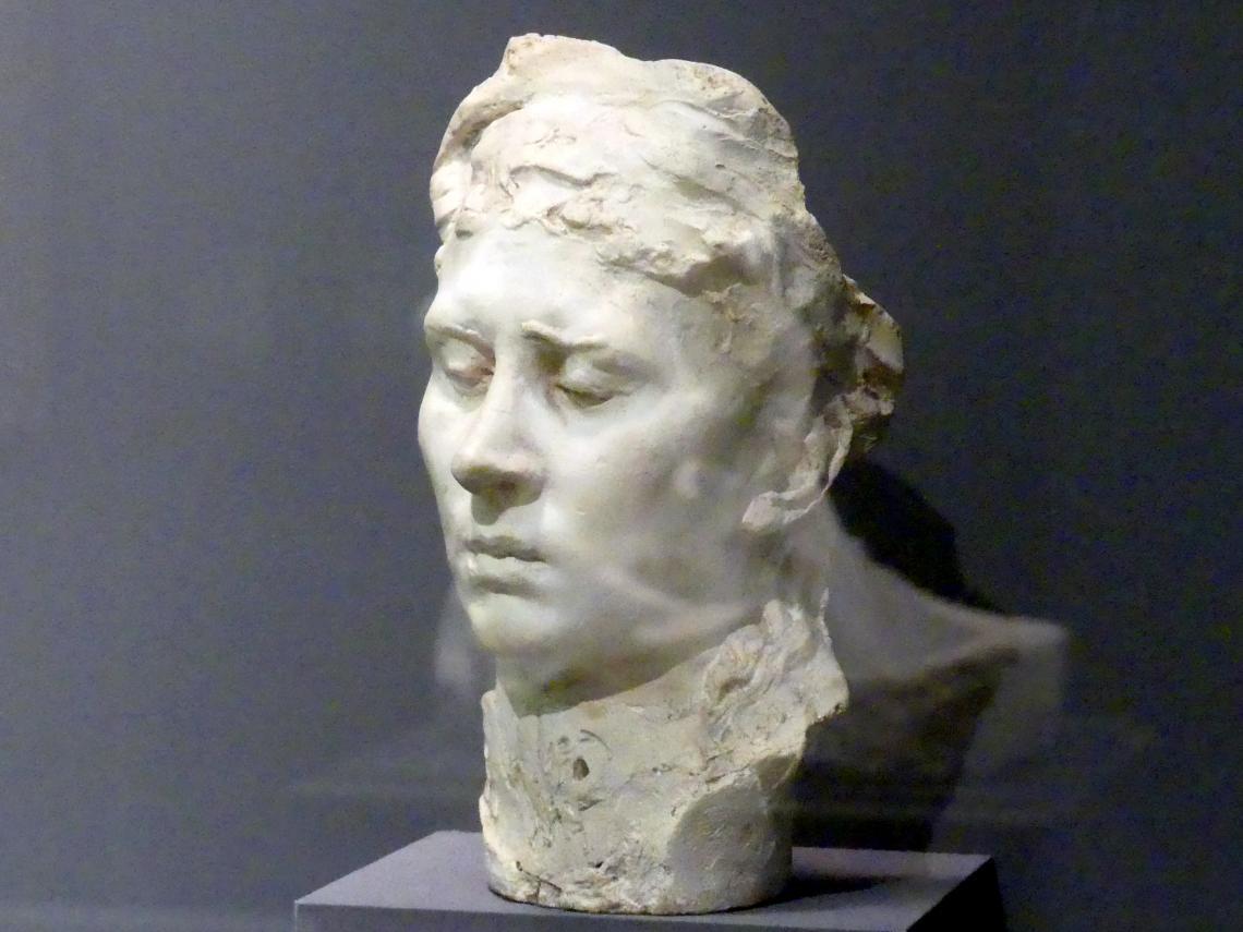 Auguste Rodin: Porträtbüste von Rose Beuret, um 1880 - 1882