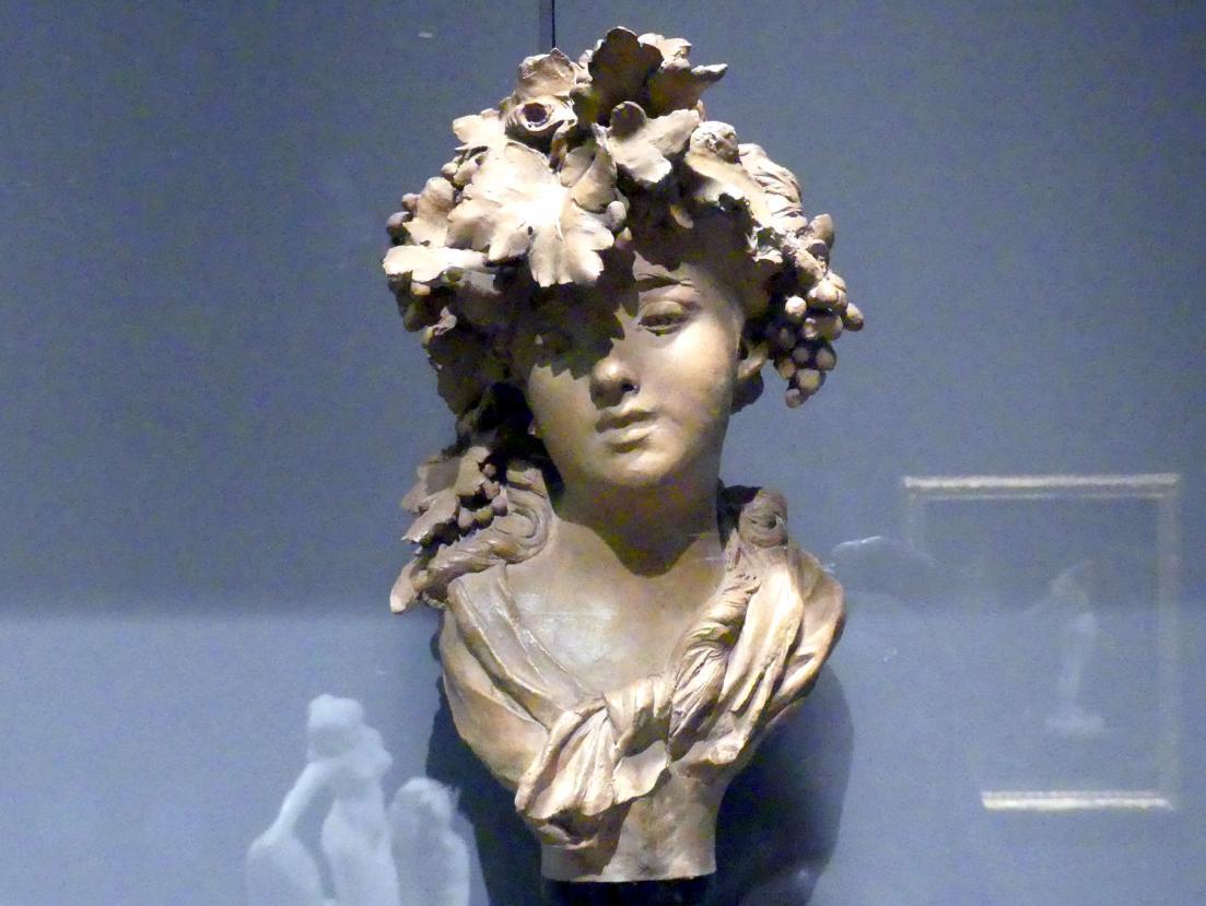 Auguste Rodin: Bacchantin (Trauben oder Herbst), um 1874