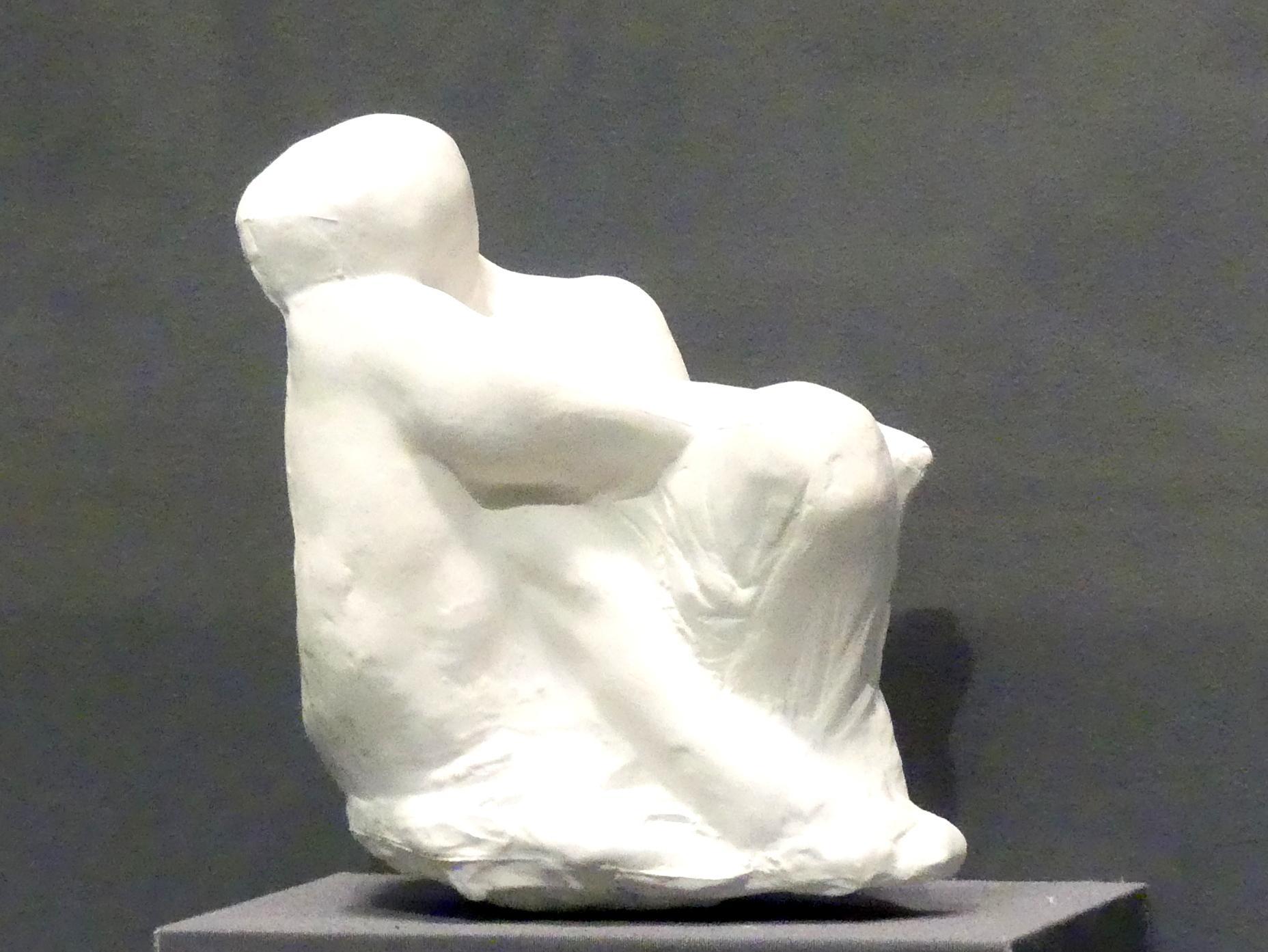 Auguste Rodin: Studie für Obsession, um 1896