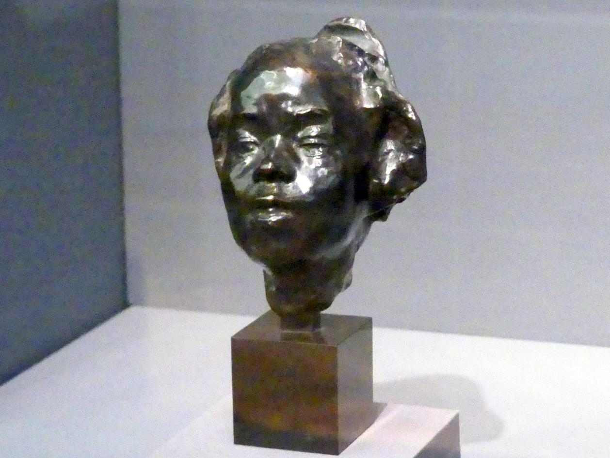 Auguste Rodin: Porträtbüste von Hanako (Ohta Hisa, 1868-1945), 1908