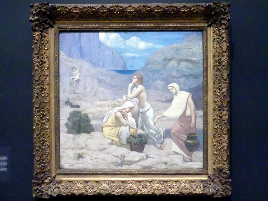 Pierre Puvis de Chavannes: Hirtenlied, 1891