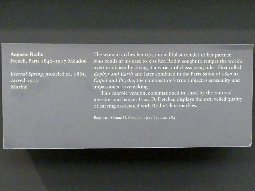 Auguste Rodin: Ewiger Frühling, um 1881, Bild 5/5