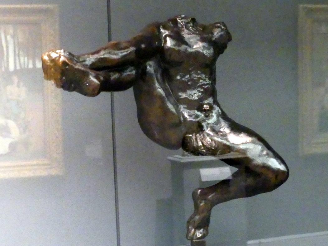 Auguste Rodin: Iris, Gesandte der Götter, um 1890
