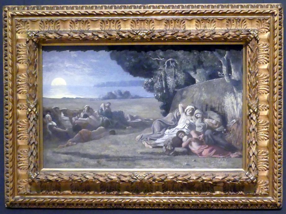Pierre Puvis de Chavannes: Der Schlaf, um 1867 - 1870