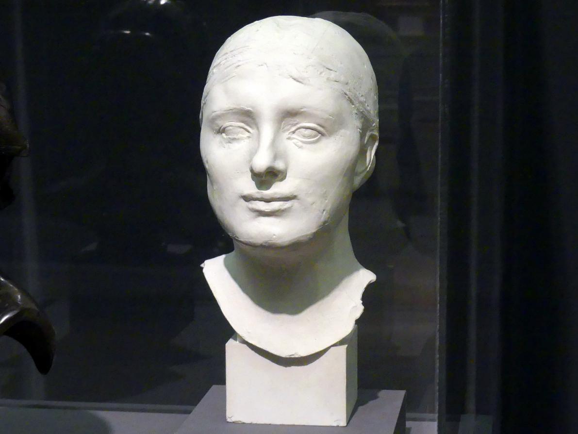 Auguste Rodin: Kopfbüste von Mrs. Russell, um 1890