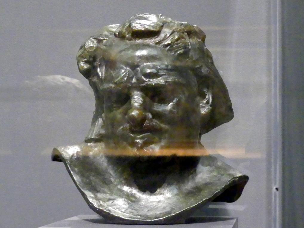 Auguste Rodin: Büste des Balzac, um 1892 - 1893