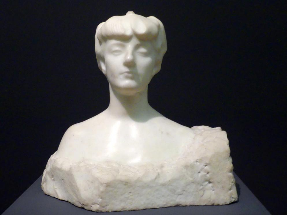 Auguste Rodin: Madame X (Gräfin Anna-Elizabeth de Noailles), um 1907