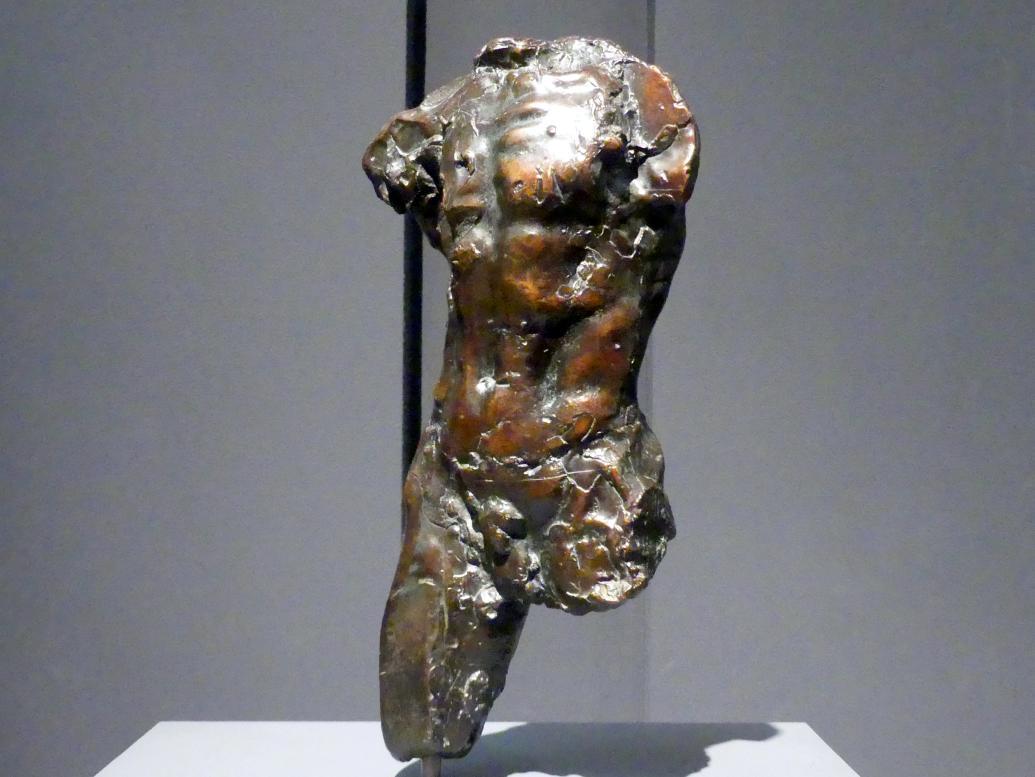 Auguste Rodin: Torso, um 1877 - 1878