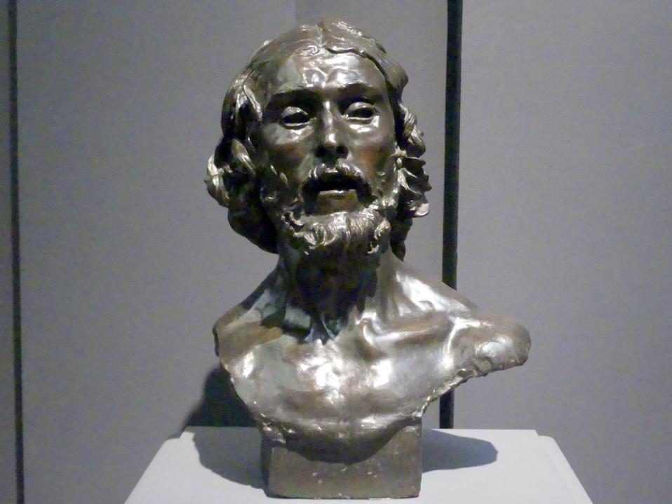 Auguste Rodin: Johannes der Täufer, um 1878