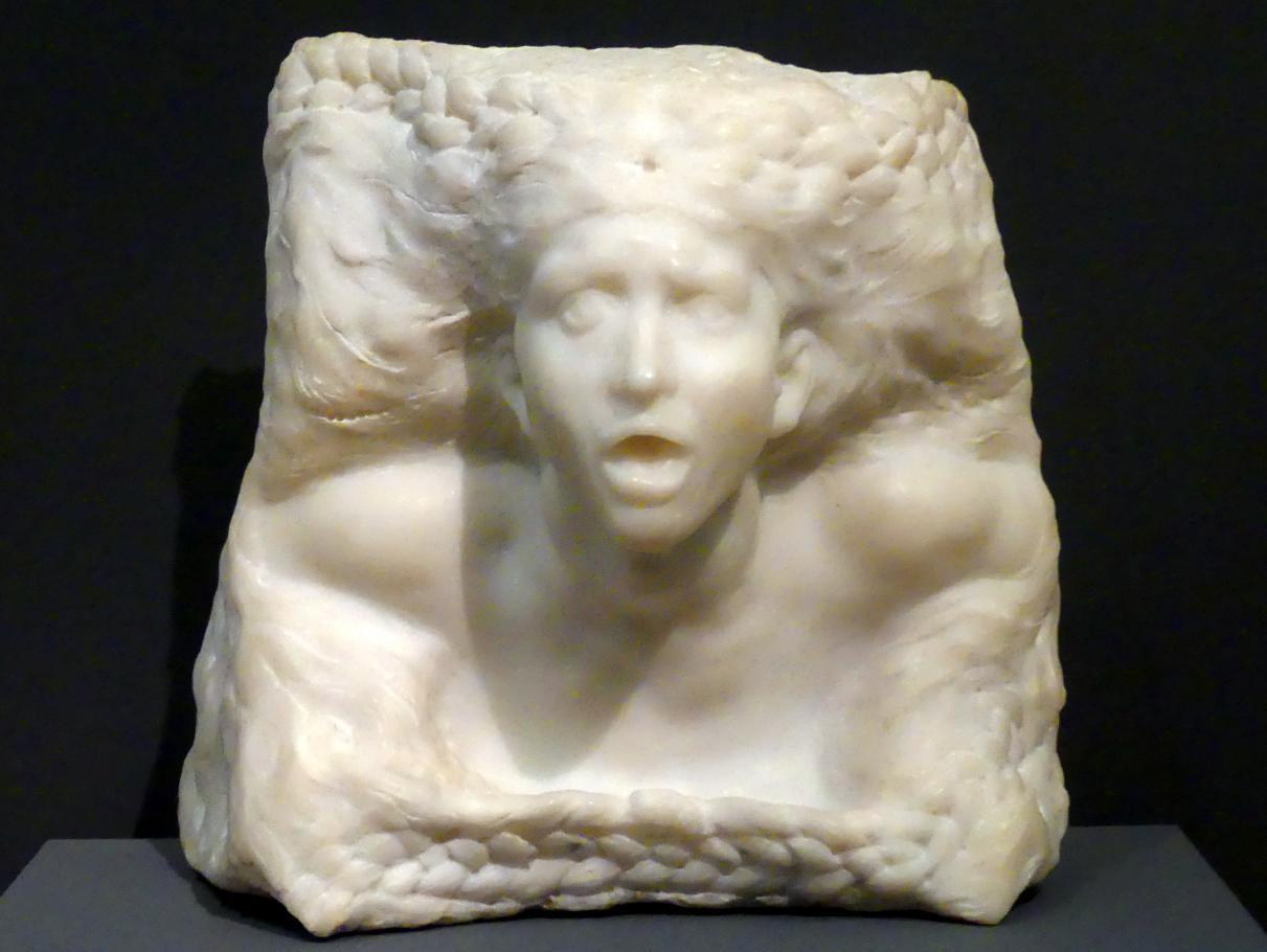 Auguste Rodin: Der Sturm, vor 1910