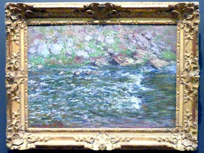 Claude Monet: Stromschnellen an der Petite Creuse in Fresselines, 1889