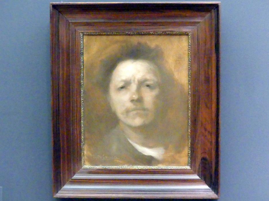 Eugène Carrière: Selbstbildnis, um 1893