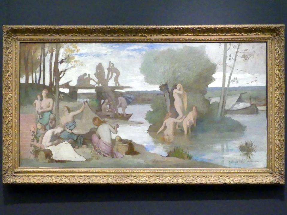 Pierre Puvis de Chavannes: Der Fluss, um 1864