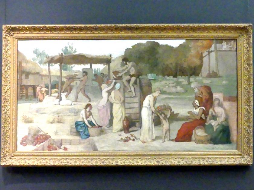 Pierre Puvis de Chavannes: Cider, um 1864
