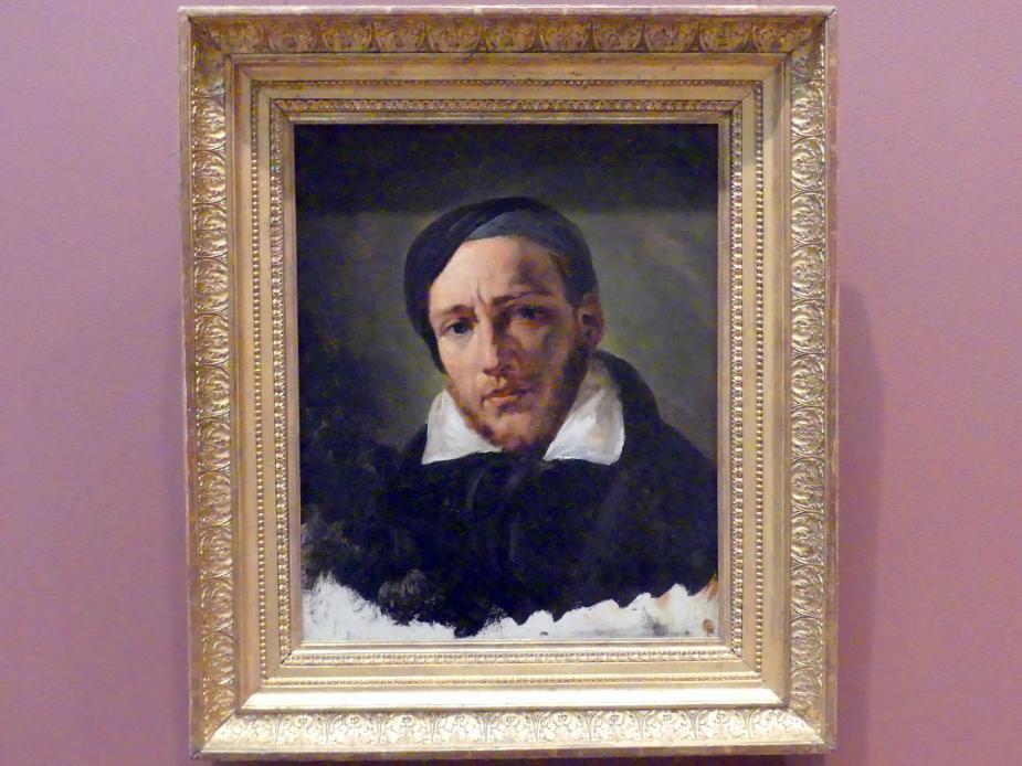 Horace Vernet: Jean-Louis-André-Théodore Gericault (1791-1824), um 1822 - 1823