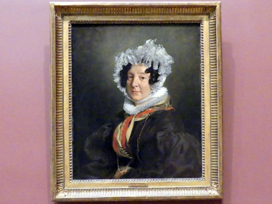 Eugène Delacroix: Madame Henri François Riesener (Félicité Longrois, 1786-1847), 1835