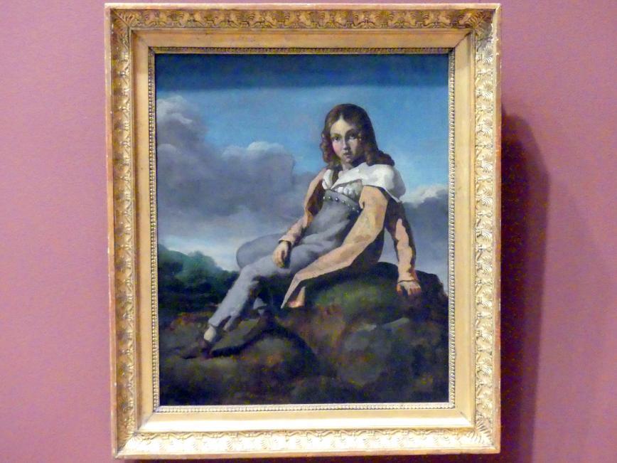Théodore Géricault: Alfred Dedreux (1810-1860) als Kind, um 1819 - 1820