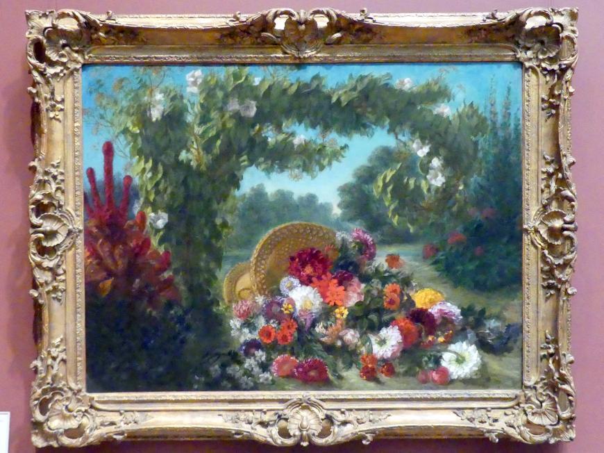 Eugène Delacroix: Blumenkorb, 1848 - 1849