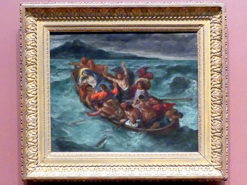 Eugène Delacroix: Schlafender Christus im Seesturm, um 1853