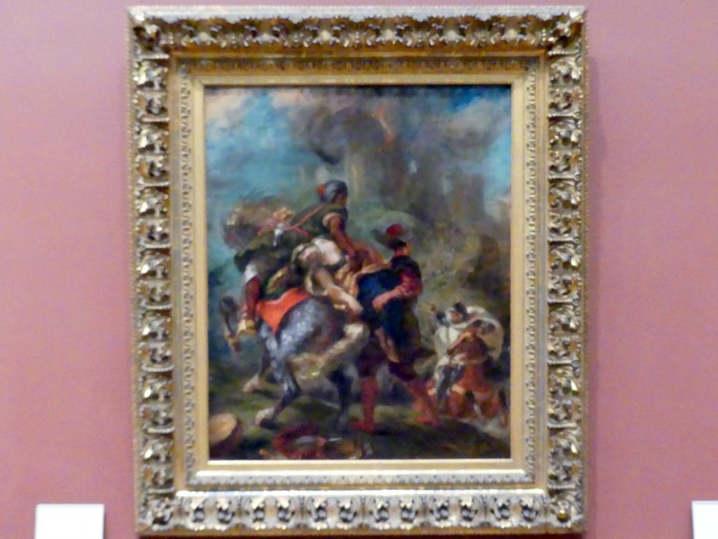Eugène Delacroix: Raub der Rebekka, 1846