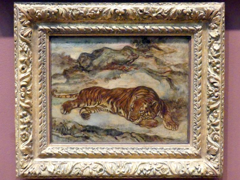 Antoine-Louis Barye: Tiger in der Ruhe, um 1850 - 1865