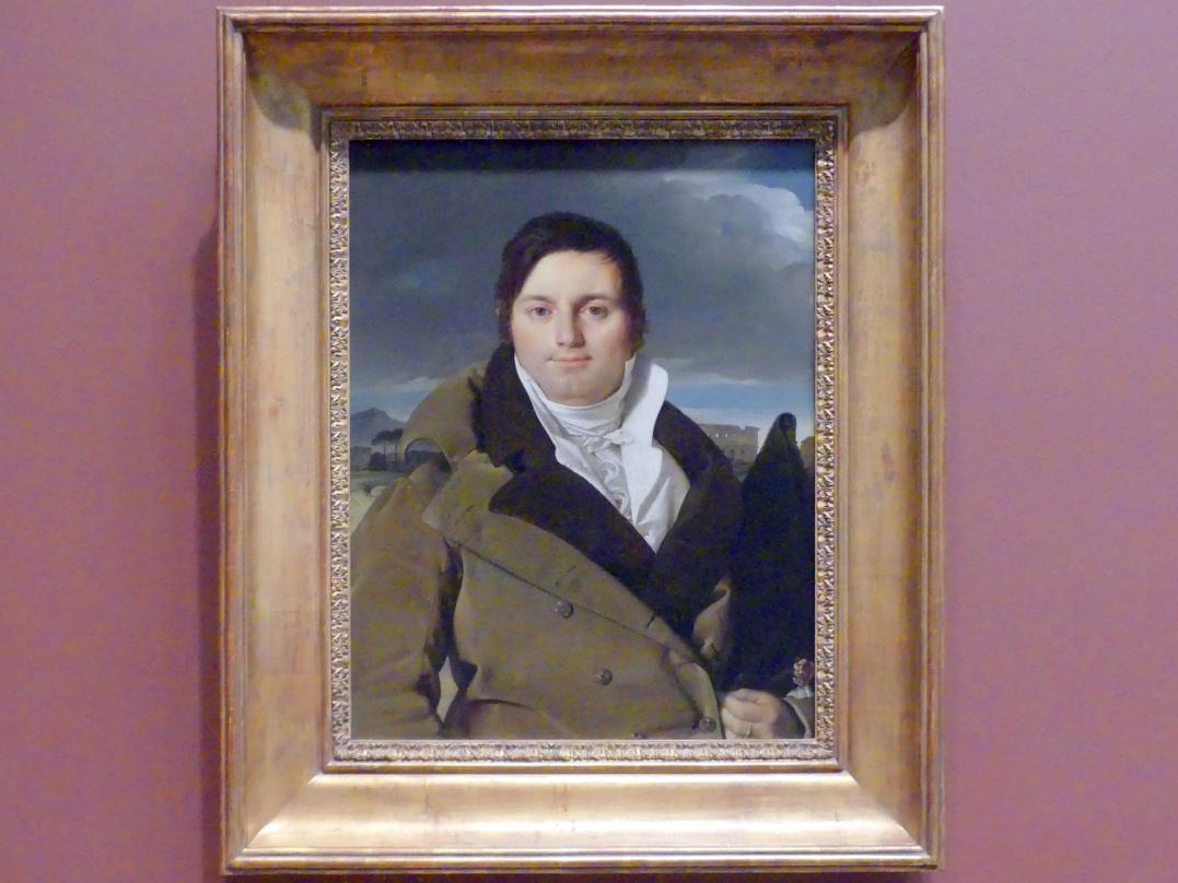 Jean-Auguste-Dominique Ingres: Joseph-Antoine Moltedo (geb. 1775), um 1810