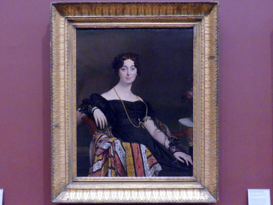 Jean-Auguste-Dominique Ingres: Madame Jacques-Louis Leblanc (Françoise Poncelle, 1788-1839), 1823