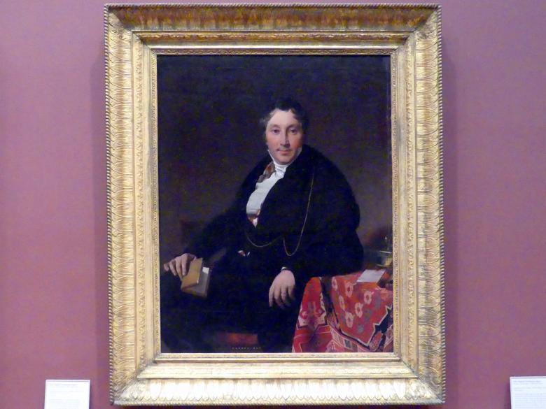 Jean-Auguste-Dominique Ingres: Jacques-Louis Leblanc (1774-1846), 1823