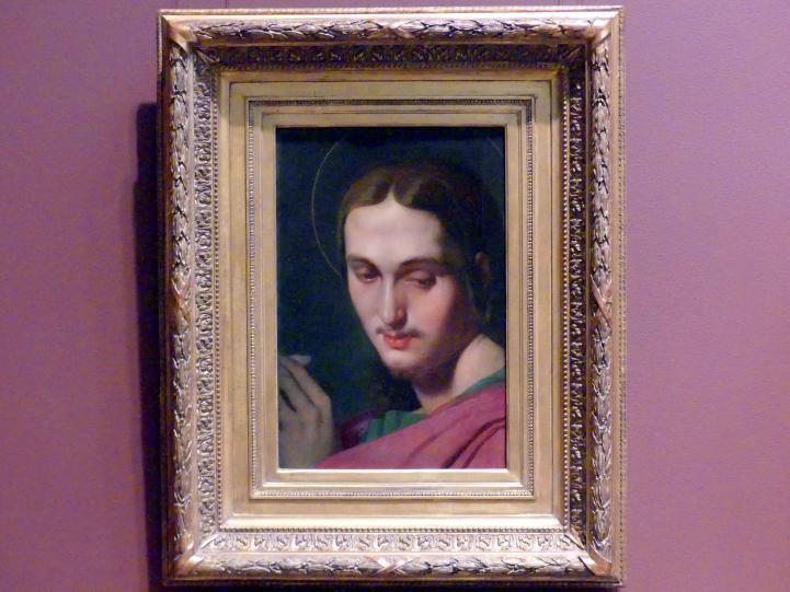 Jean-Auguste-Dominique Ingres: Kopf des Evangelisten Johannes, um 1817