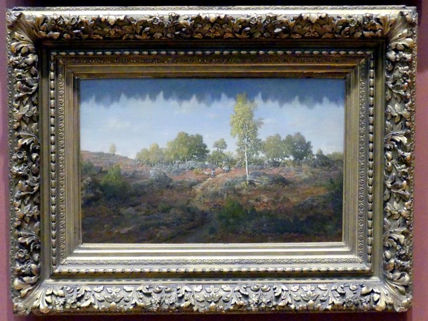 Théodore Rousseau: Weg zwischen den Felsen, 1861
