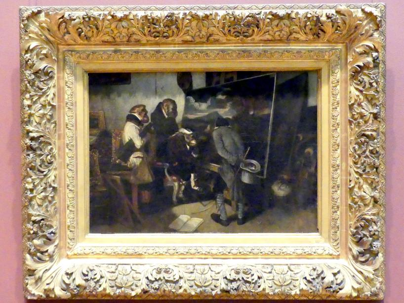 Alexandre-Gabriel Decamps: Die Experten, 1837