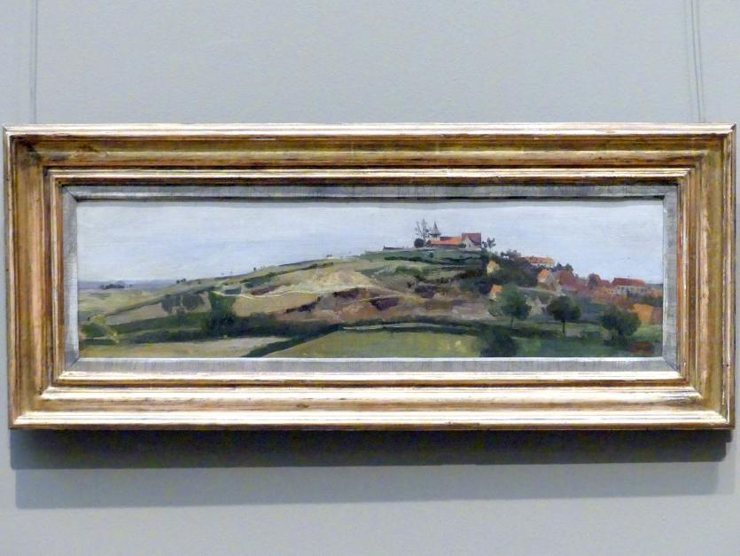 Jean-Baptiste Camille Corot: Blick auf Lormes, um 1840 - 1845