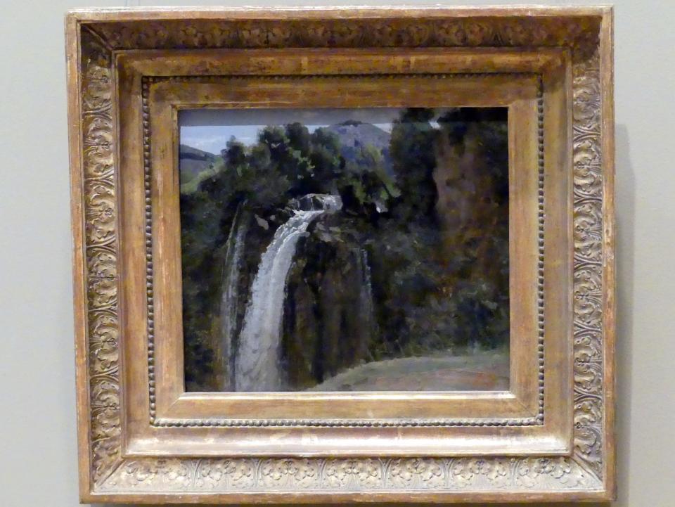 Jean-Baptiste Camille Corot: Wasserfall bei Terni, 1826
