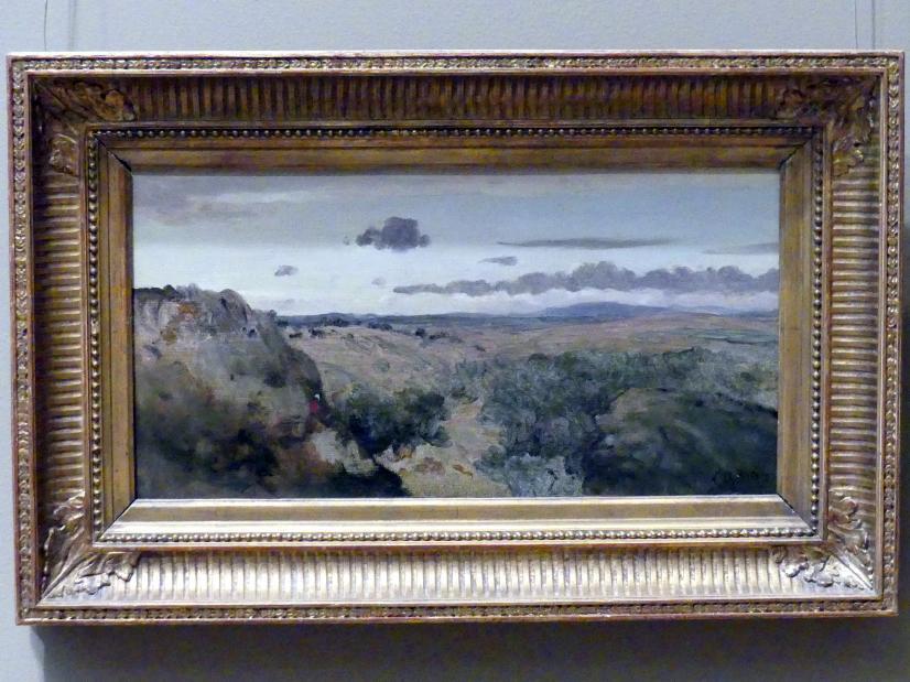Jean-Baptiste Camille Corot: Gebirgslandschaft, Undatiert