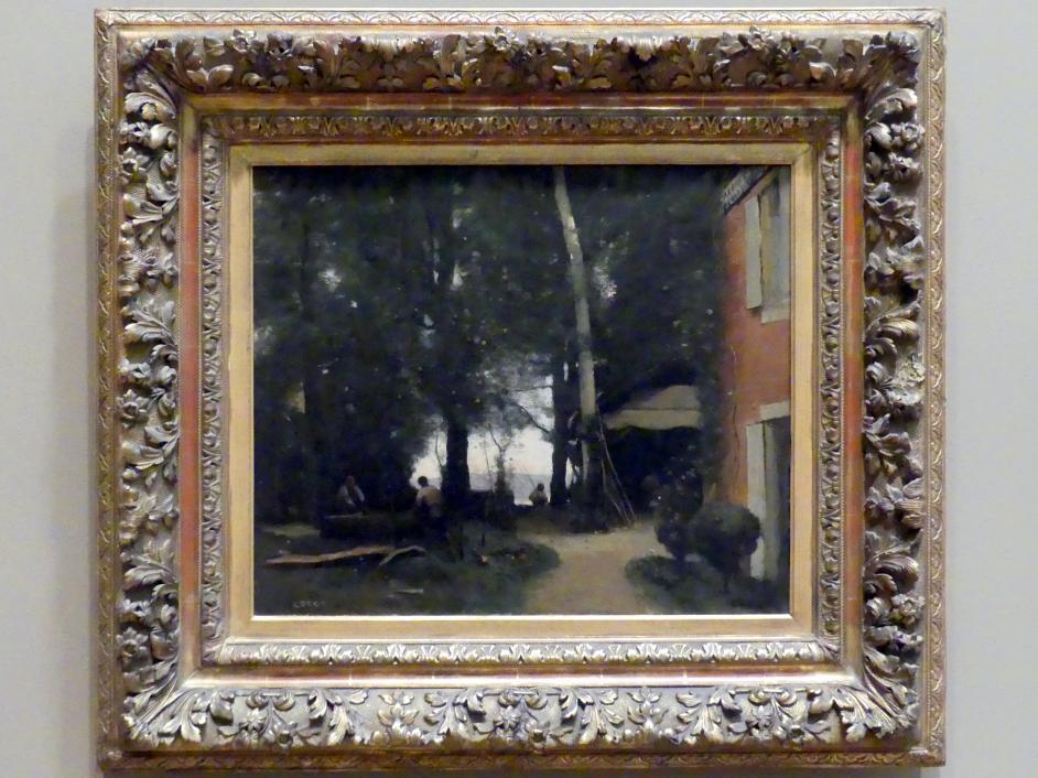 Jean-Baptiste Camille Corot: Ufer der Seine bei Conflans, um 1865 - 1870
