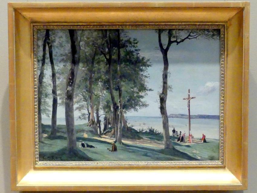 Jean-Baptiste Camille Corot: Kalvarienberg bei Honfleur, um 1830