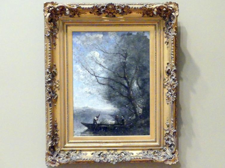 Jean-Baptiste Camille Corot: Der Fährmann, um 1865