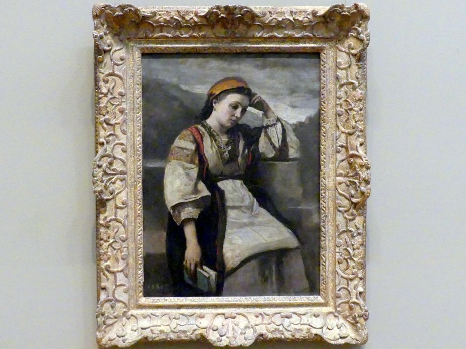 Jean-Baptiste Camille Corot: Träumerei, um 1860 - 1865