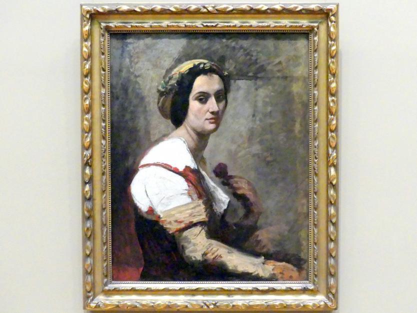 Jean-Baptiste Camille Corot: Sibylle, um 1870