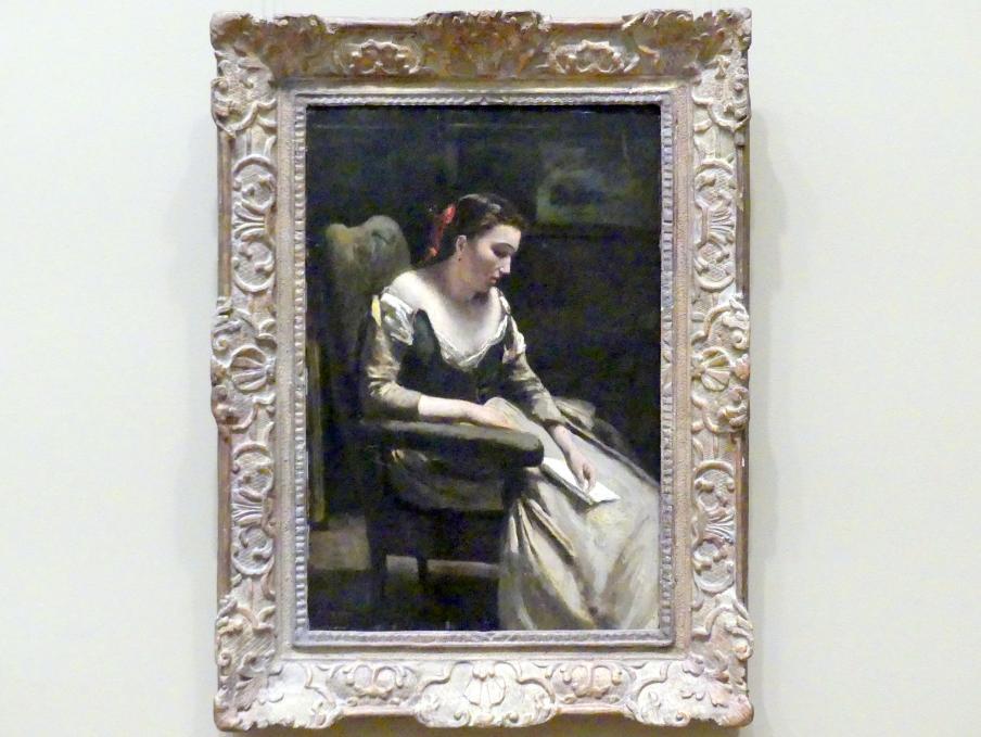 Jean-Baptiste Camille Corot: Der Brief, um 1865